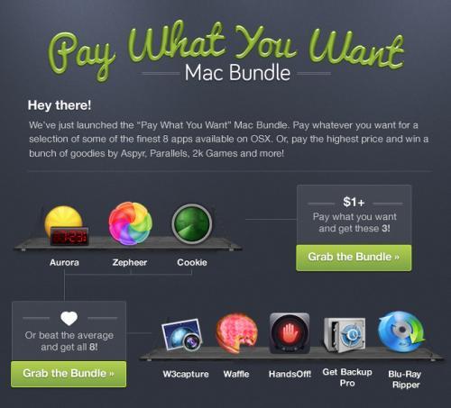 (MAC) Pay What You Want Mac Bundle mit bis zu 8 Apps zum beliebigen Preis