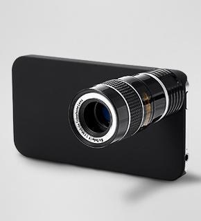Teleobjektiv für iPhone 4 / 4S bei Tchibo für 12 € + Versand