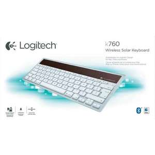 Logitech K760 Bluetooth® Solar-Tastatur(Mac,iPad,iPhone) für 33€ @Conrad
