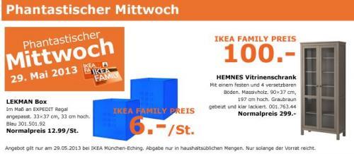 IKEA HEMNES Vitrinenschrank  90x37x197  für 100 EUR