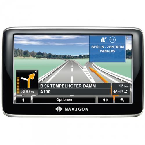 Navigon 4310 max - Europakarten 40 - 4,3 Zoll  - 16:9 Display