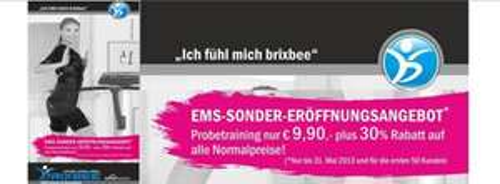 EMS-Training für 13,90 €/Training in Neuss