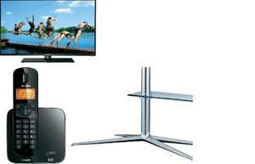 Samsung LED-TV-Fußbodenstandfuß - Philips CD1701 - Thomson 46FU5553