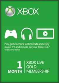 Gratis Xbox Live Gold Account für einen Monat (für Silber Mitglieder)