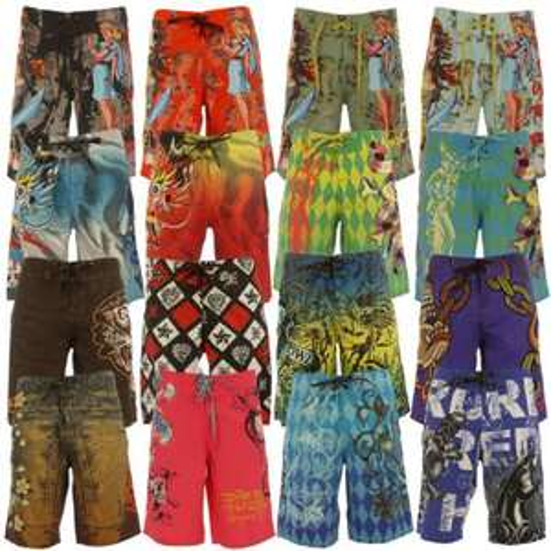 Ed Hardy Boardshort Badeshort Badehose Shorts