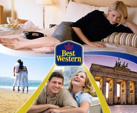 Best Western - 3 Tage, 2 Personen, über 250 Hotels europaweit - 139 Euro