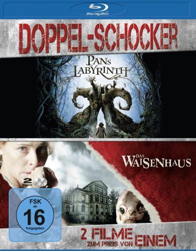 Pans Labyrinth/ Das Waisenhaus [Blu-ray] 2 Filme für 9,97€ bei Amazon