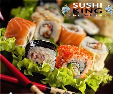 Sushi Mittagsmenü bei Sushi King (@ Frankfurt
