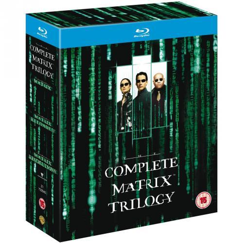 Matrix - The Complete Trilogy [Blu-ray] bei Amazon