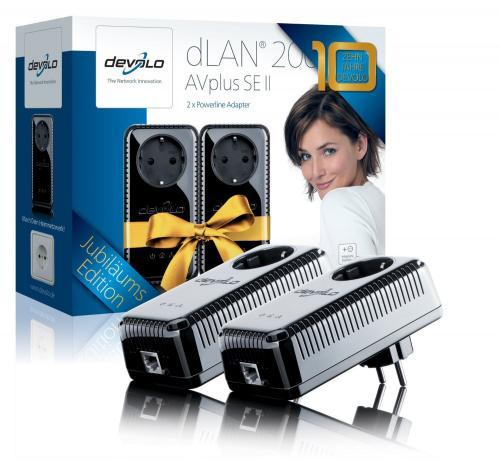 Blitzangebot bei Amazon.de: Devolo dLAN 200 AVplus Starter Kit für 44,- EUR