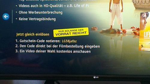 [LG Smart TV] maxdome App Gratis Film