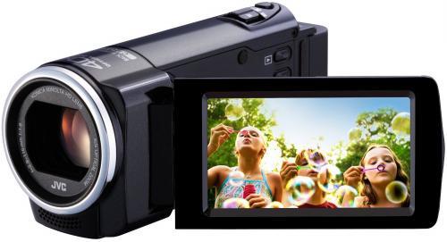 "JVC™ - Camcorder ""Everio GZ-E15"" (FullHD, 40xopt. Zoom,HDMI) ab €128,15 [@Plus.de]"