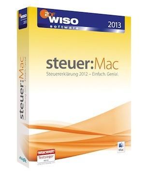 WISO steuer:Mac 2013 (Steuerjahr 2012) für 24,95 EUR nur bis 31.05.2013 = über 20% Ersparnis gegenüber Apple App-Store!