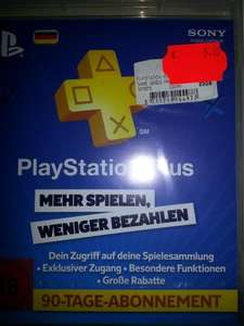 [Lokal Saturn Witten] Playstation Plus 90 Tage