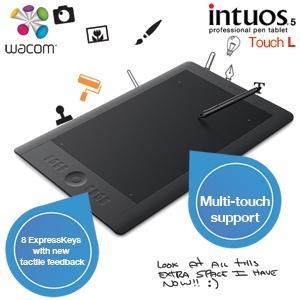 Wacom Intuos 5 Touch L professionelles Grafiktablet