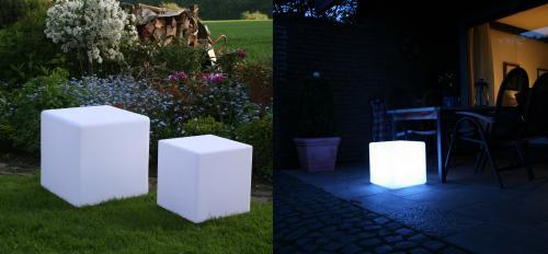LED Würfel 40x40x40 cm (und andere) zum TOP Preis!