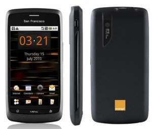 Orange San Francisco / ZTE Blade Smartphone Grey [Amazon.co.uk]