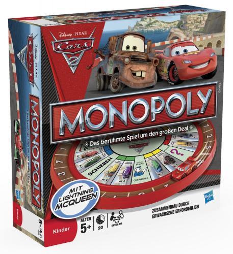 (Brettspiel) Monopoly 27810100 Disney Cars 2 bei Amazon