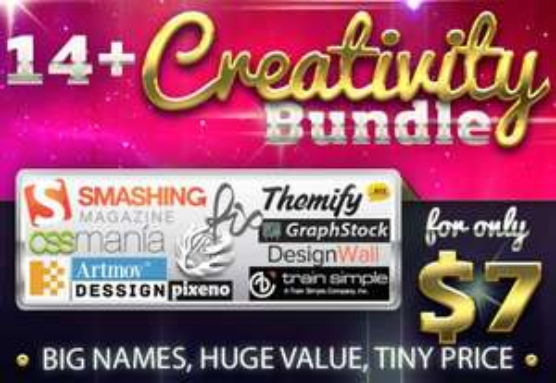 Bundlehunt Creativity Bundle - 14 Tools für Designer für nur 5,41€ (MAC & PC)