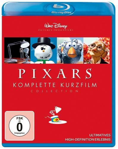 (Amazon) Pixars komplette Kurzfilm Collection [Blu-ray]