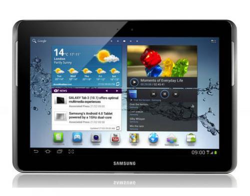 Samsung Galaxy Tab 2 10.1 WiFi 16 GB P5110 Titanium-silver Demoware