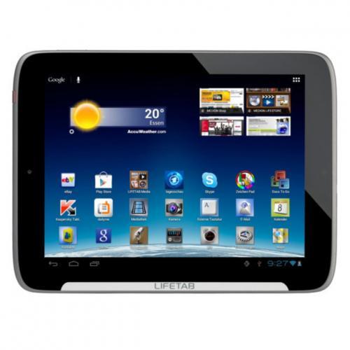 LIFETAB MEDION S9512 mit 16GB 1GB GPS WLAN micro-SD für nur 176,94 EUR inkl. Versand [B-Ware/12 Monate Gewährleistung]