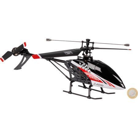 Helikopter fun2get Eagle-X Singleblade, 4 Kanal, 370er Modellbaumotoren für 44,85 €