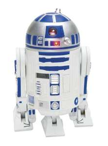 Star Wars - Clone Wars Jugend-3d-Wecker in Plastik mit R2-D2 Sounds