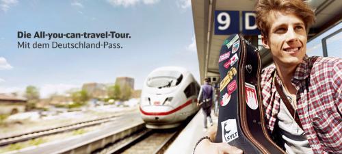 Deutschlandpass 2013: 1 Monat Bahnfahren ab 109€ (Erwachsene 309€)