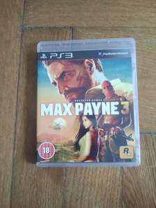 MAX PAYNE 3 PS3 UK