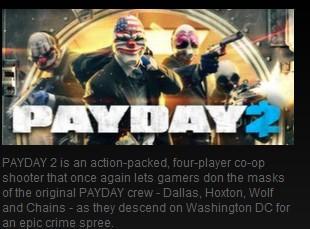 PAYDAY 2 Career Criminal Edition steam gift zum abgeben