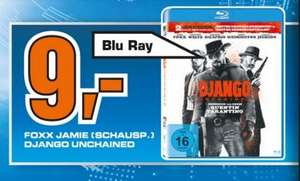 [Lokal Bad Homburg] SATURN Django Unchained Blu-ray für 9 €