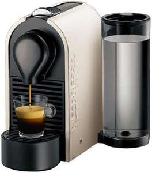 [lokal] Saturn Bad Homburg: KRUPS Nespresso U XN2501 Pure Cream inkl. 16 Kapseln für 77 €