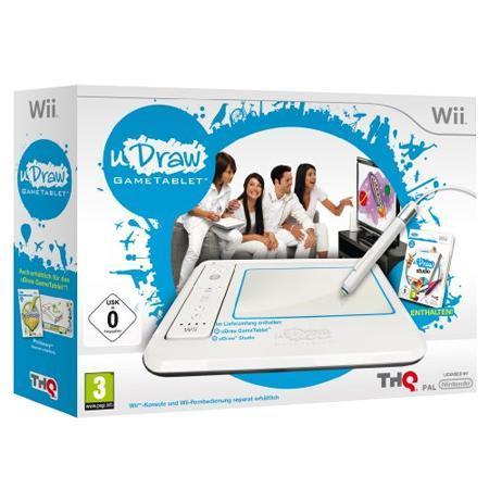 Wii Udraw Board + kostenloses Spiel  Doods grosses Abenteuer