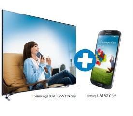 Das Zweilight des Jahres. Samsung Smart-TV kaufen, je nach Modell Galaxy S III oder S4 gratis