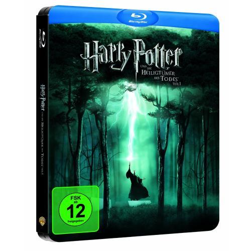 Harry Potter und die Heiligtümer des Todes (Teil 1) (limited Steelbook 2-Disc, exklusiv bei Amazon.de) [Blu-ray] für 9,97€