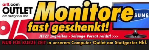 [Offline, lokal Stuttgart] Monitore günstig, z. B. Samsung SyncMaster S24B300HL für 99 Euro