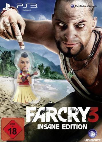 (PS3/PC)  Far Cry 3 Insane Edition (exklusiv bei Amazon.de)