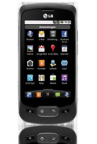 LG Optimus One P500 - Smartphone (Black) [Tradoria.de]