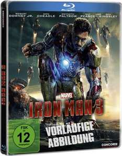 [Blu-ray]  Iron Man 3 Steelbook!  14,99€  [@Amazon]