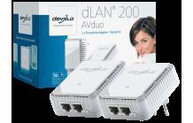 devolo dLAN 200 AVduo Starter Kit für 39€ bei Media Markt