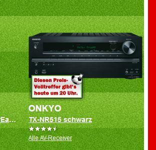 MM Platzverweis Onkyo TX-NR 515 Schwarz