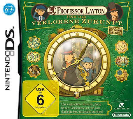 Professor Layton verlorene Zukunft + Schatulle der Pandora