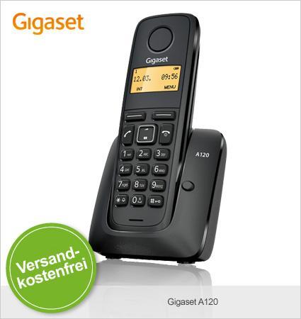 Limango: Gigaset A120 Single/Duo/Trio zu 14,95€/19,95€/24,95€ Neuware