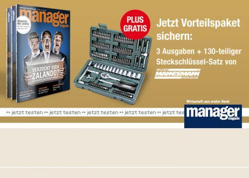 Manager Magazin / Steckschlüsselsatz 130-teilig