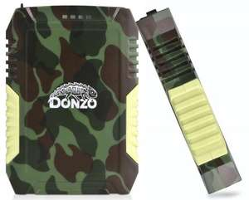 Powerbank 7800mAh Li-Polymer Akku - Wasserfest - Military Style - jetzt 40% günstiger