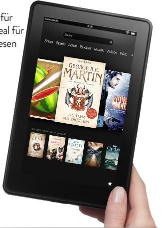 """LOKAL Media Markt Essen - Kindle Fire 7"""" 8GB 99,-, Kindle Fire HD 32GB 179,-"""