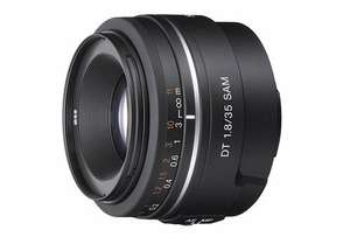 Sony Objektiv 35mm 1.8 Normalbrennweite an Crop