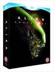 Alien Anthology Box 6 Blu-Ray Discs inkl. dt. Ton