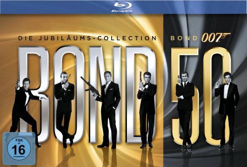 James Bond - Bond 50: Die Jubiläums-Collection [Blu-ray]